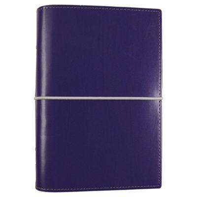 Filofax Domino A6 Personal Organiser, Ultra Violet