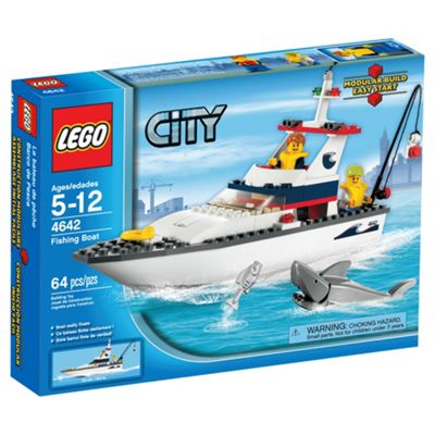 LEGO City Fishing Boat 4642