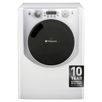 Hotpoint Aqualtis Washing Machine, AQ113L297I, 11KG Load, White