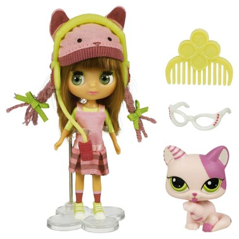 Littlest Pet Shop Pet Sitter Cat