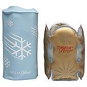 CELLARDine White Wine Cooler and Red Wine Warmer Set