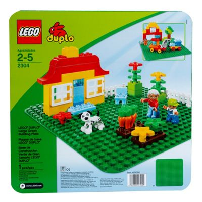 LEGO DUPLO Large Green Building Plate 2304 Creative Preschool Toy