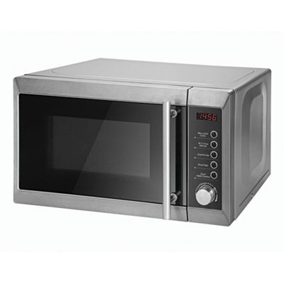 Tesco Microwave Oven With Grill, 20L   Silver