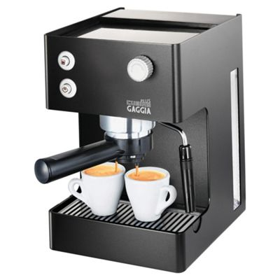 Gaggia 3 Cubika Plus Coffee Machine - Silver