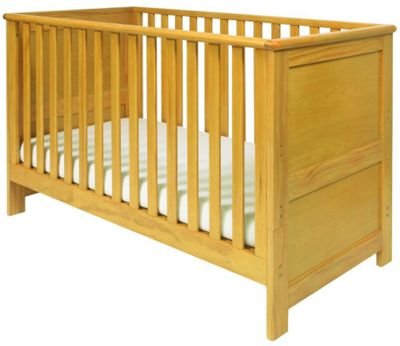 East Coast Boston Cot Bed, Natural