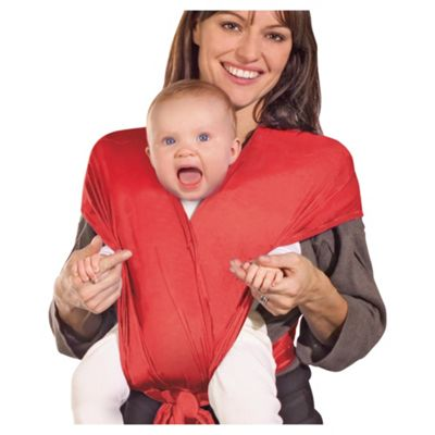 Papoozle Baby Carrier, Red