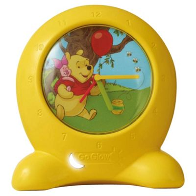 Winnie The Pooh Go Glow Clock