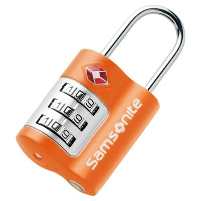 Samsonite TSA Combination Lock, Orange