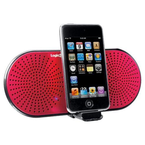 Logic3 I-Stationgo Hold Audio Device - Pink