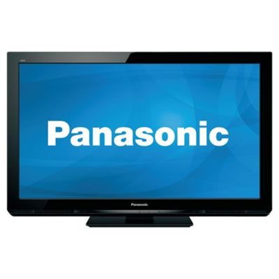 panasonic tv viera 42 inch. Panasonic Viera TX-P42S30B 42-inch Full HD 1080p 600Hz Plasma TV With Freeview Tv 42 Inch