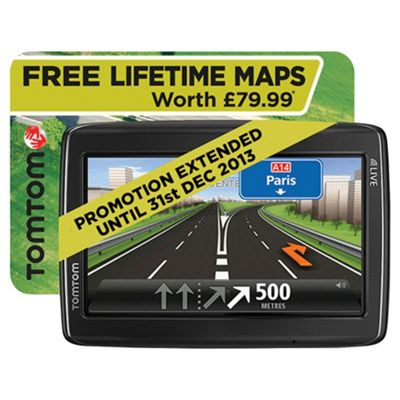 TomTom GO LIVE 825 Automotive GPS Receiver Black
