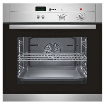 Buy Neff series 1 B12M42N0GB single built in electric oven from ...