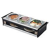 Hostess Buffet Server - Silver