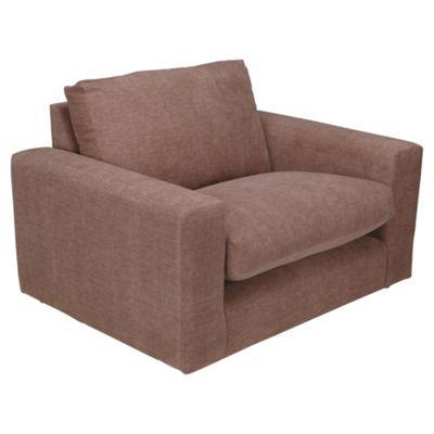 Valentino Snuggler Chair, Mocha