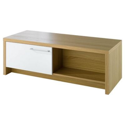 Manhattan Coffee Table Oak Effect / White