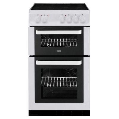 Zanussi ZCV561DW White 50cm Electric Cooker