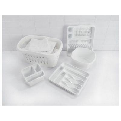 Arctic white kitchen set