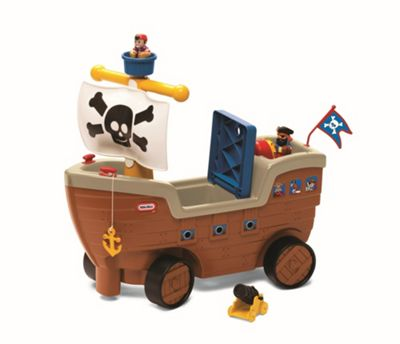 Little Tikes Play n' Scoot Pirate Ship Ride-On