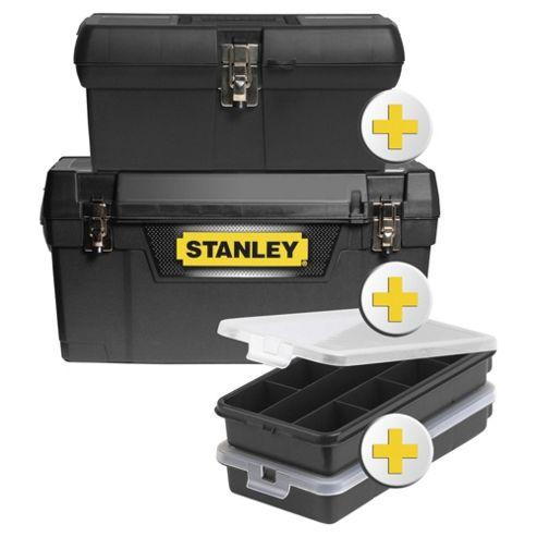 Stanley 4 in 1 bonus pack toolbox