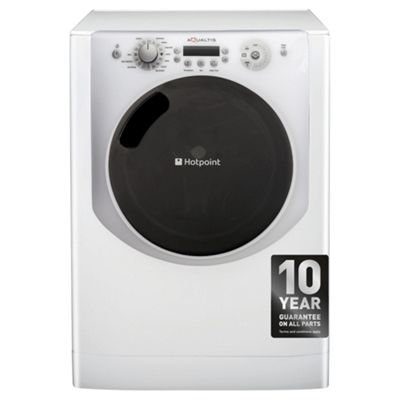 Hotpoint Aqualtis Washing Machine, AQ113F497I, 11KG Load, White