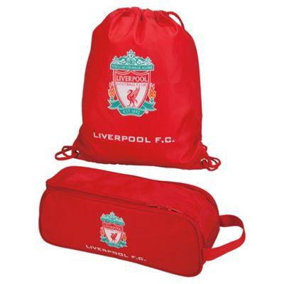Official Liverpool F.C Rucksack Backpack Gymbag Bootbag Lunch Bag Gift