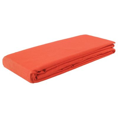 Tesco Kids Single Fitted Sheet - Red
