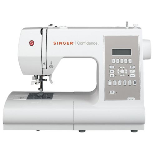 Singer 7470 Computerised Sewing Machine - White