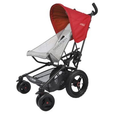 Micralite Fastfold Superlite Pushchair, Red