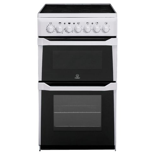 Indesit IT50CW White Electric Twin Cavity Cooker