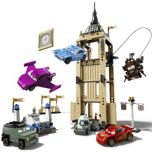LEGO Disney Pixar Cars 2 Big Bentley Bust Out 8639