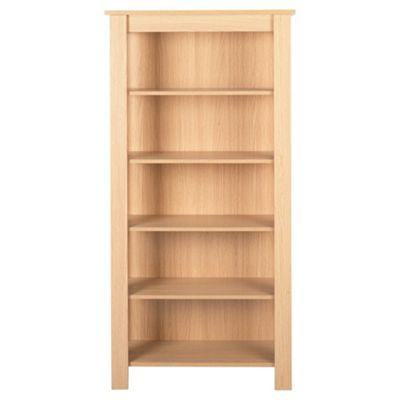 Tilson 5 Shelf Bookcase Oak Effect