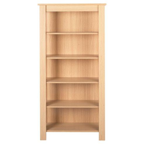 Tilson 5 Shelf Bookcase Oak Effect