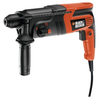 BLACK+DECKER 600W Corded Pneumatic Hammer Drill KD860KA