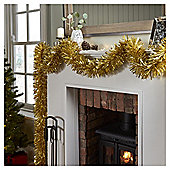Gold Christmas Tinsel, 10m