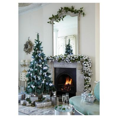 Tesco 7ft Canadian Fir Christmas Tree with Feathered Tips
