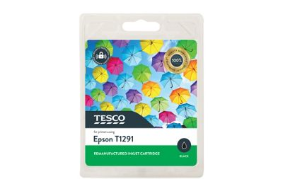 Tesco E1291 Printer Ink Cartridge Black