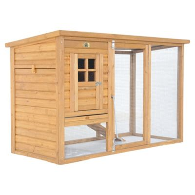 Chickenshack Chicken Coop with run and cover, small