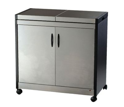 Hostess Connoisseur Trolley - Brushed Steel