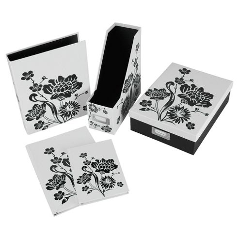 Floral stationery collection