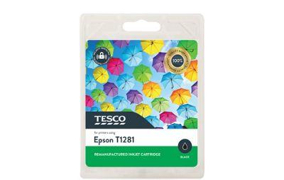Tesco E1281 Printer Ink Cartridge Black