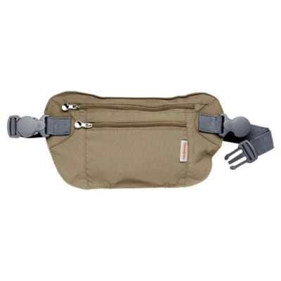 Samsonite Double Pocket Money Belt, Beige