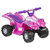Evo ATV Quad Bike Electric Ride-On Pink & Purple