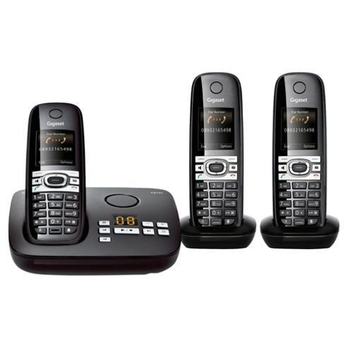 Gigaset Communications C610A Triple Telephone