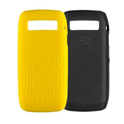 Blackberry Skins Twin Pack for the Pearl 3G 9105 (Black/Yellow)