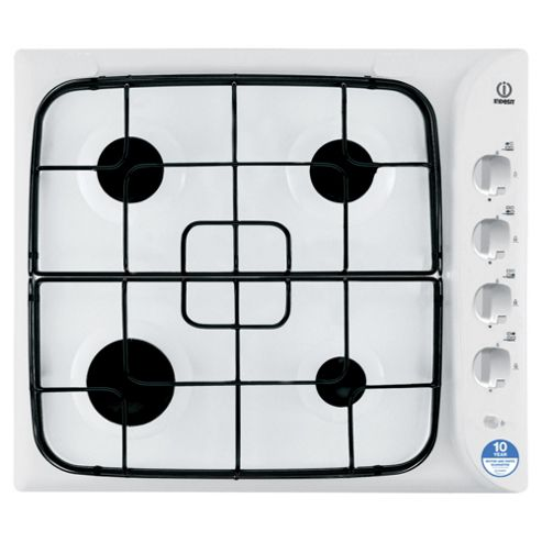 Indesit Gas Hob, PIM640ASWH, White