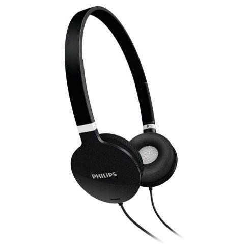 Philips Lightweight Headphones Black SHL1700/10