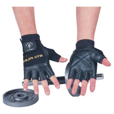 Gold's Gym Mesh Back Weight Training Gloves XL