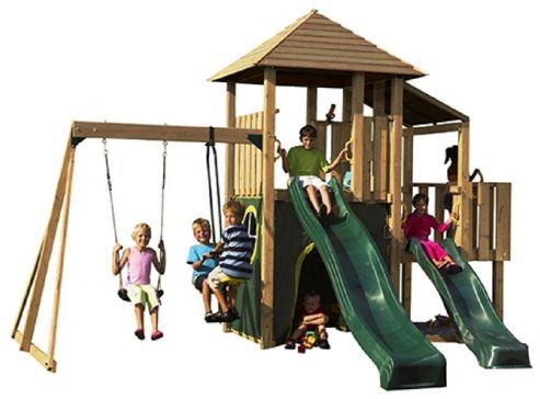 Plum Bison Wooden Play Centre