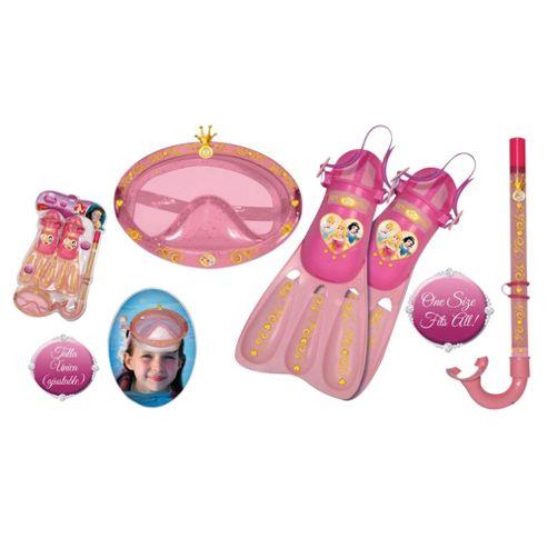 Disney Princess Snorkel Mask & Flipper Set