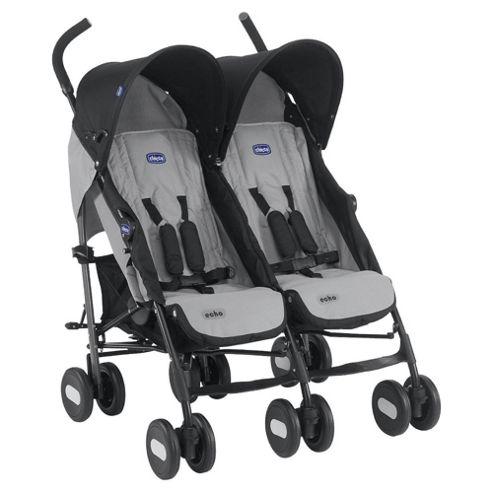 Chicco Echo Twin Stroller, Moonstone